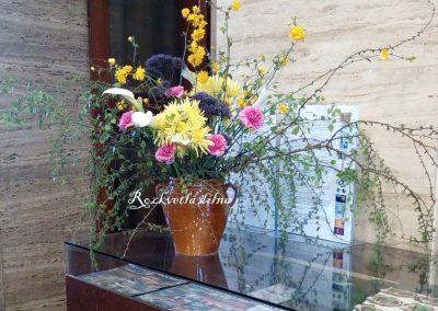 Dekorace muzeum - vázy