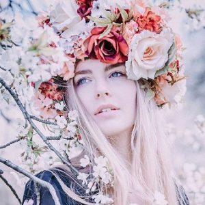 Rozkvetlá dílna_Květinový věnec