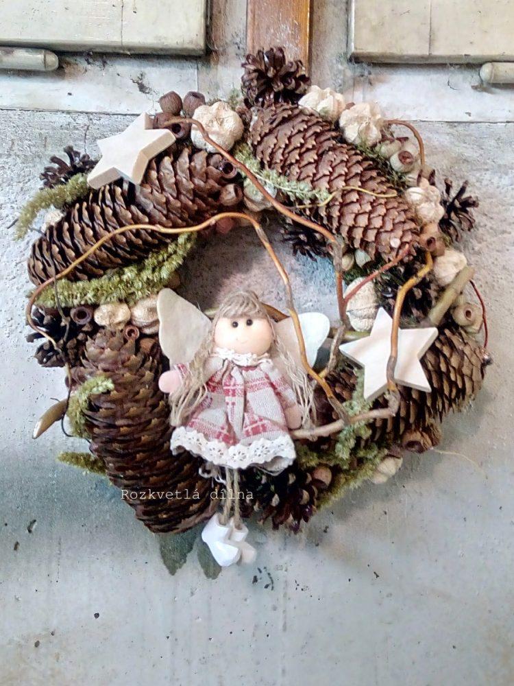 závěsný_věnec_vánoční_přírodní_II