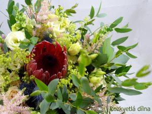 Svatební kytice s proteou