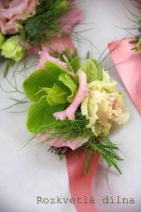 Náramek živé květy