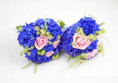svatební květiny pro maminky s hortenzií