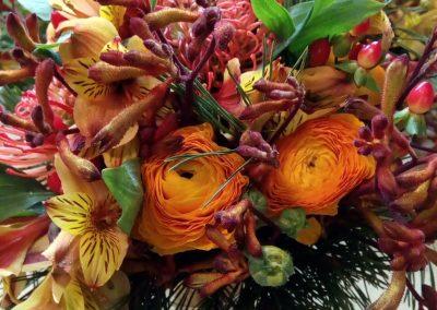 svatební kytice exotická