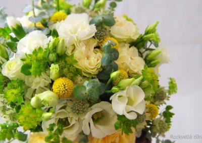 svatební kytice s růžemi 2