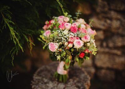 svatební_kytice_růže