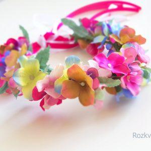 Věneček - romantické hortenzie