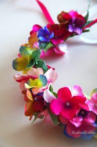 Věneček - romantické hortenzie 2