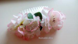 Květinový hHřebínek - jabloňové květy 2