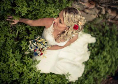 svatební kytice luční styl 4