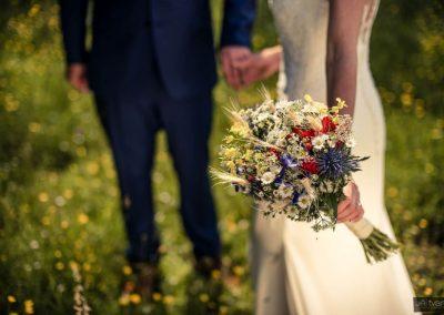 svatební kytice luční styl 5