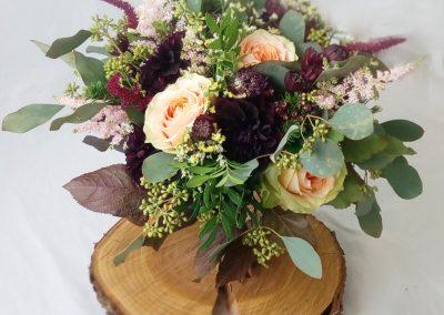 svatební kytice s hortenzií