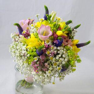 svatební letní kytice luční