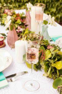 Svatební stůl - vázy