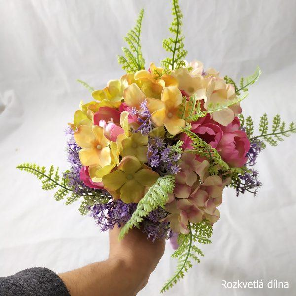 Jarní kytice umělá
