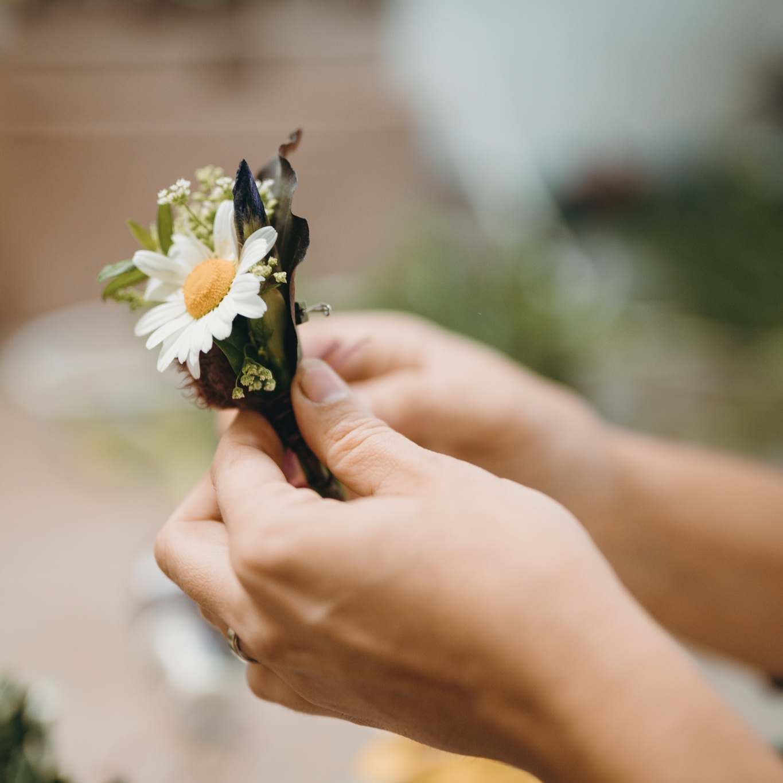květinové šperky
