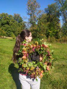 workshop podzimní věnec